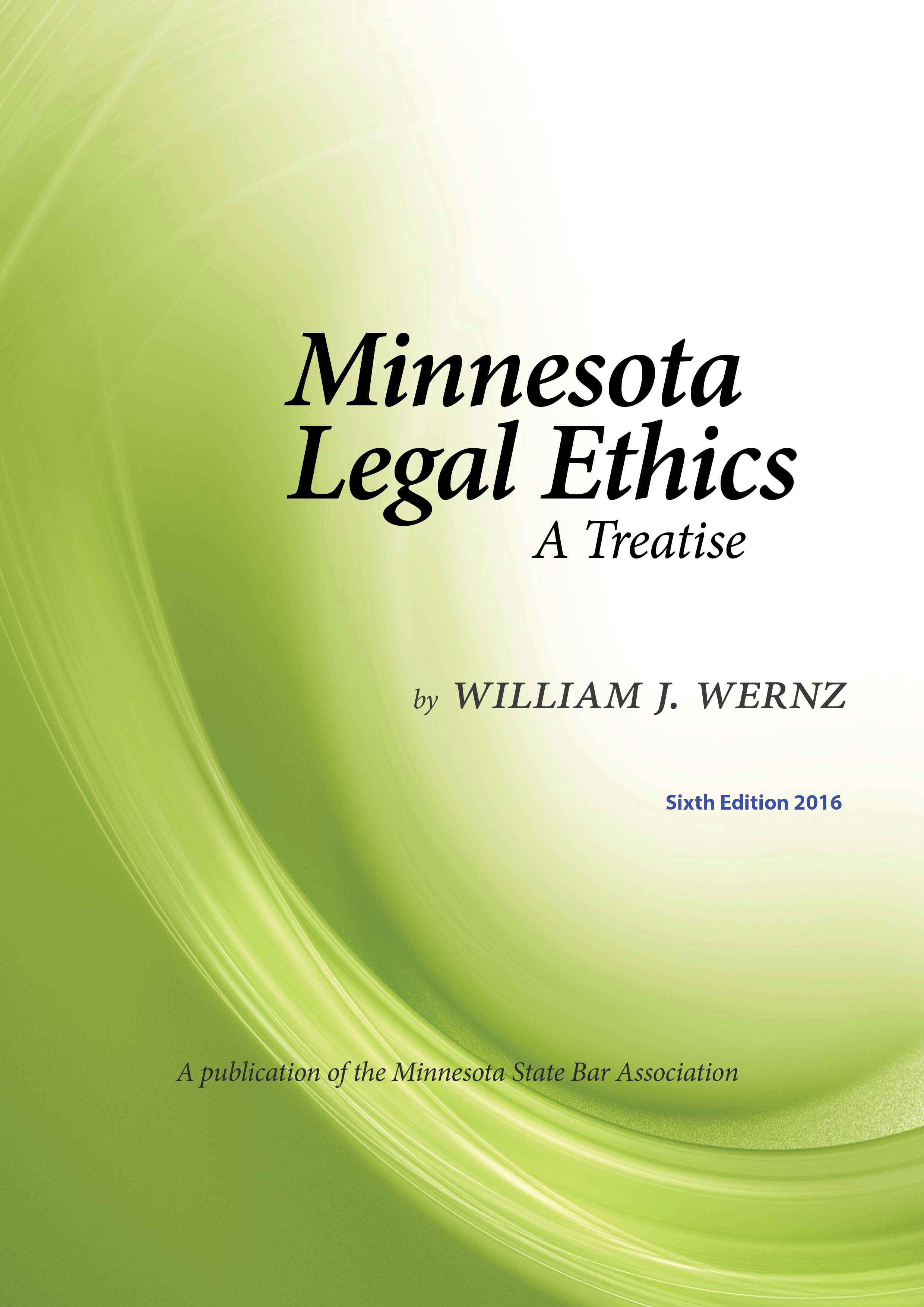 Minnesota Legal Ethics 6th ED cover
