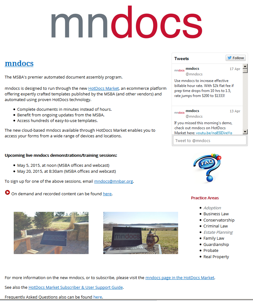 mndocs.com - wide page view